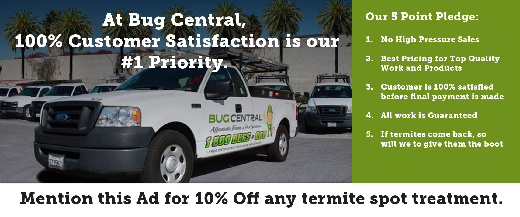 Los Angeles termite and pest control service